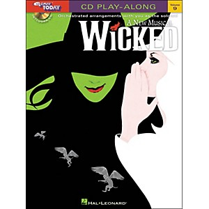 Hal-Leonard-Wicked---A-New-Musical-E-Z-Play-Today-CD-Play-Along-Volume-9-Book-CD-Standard