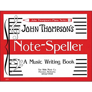 Willis-Music-John-Thompson-s-Note-Speller-A-Music-Writing-Book-Standard