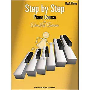 Willis-Music-Step-By-Step-Piano-Course-Book-3--Book-Only--Standard