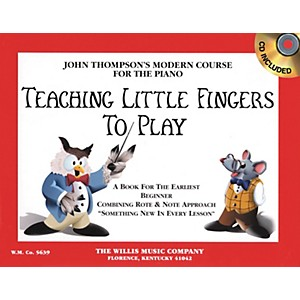 Willis-Music-Teaching-Little-Fingers-To-Play-Book-CD-Standard