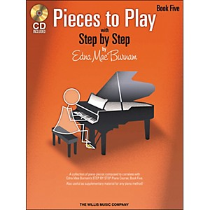 Willis-Music-Pieces-To-Play-Book-5-Book-CD-Standard
