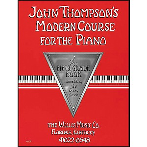 Willis-Music-John-Thompson-s-Modern-Course-For-The-Piano-Fifth-Grade-Book-Standard