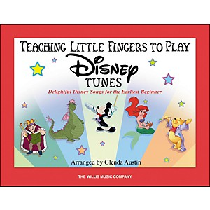Willis-Music-Teaching-Little-Fingers-To-Play-Disney-Tunes--Book-Only--Standard