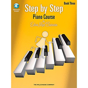 Willis-Music-Step-By-Step-Piano-Course-Book-3-Book-CD-Standard