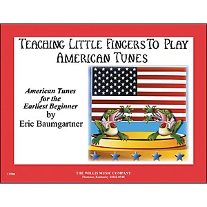 Willis-Music-Teaching-Little-Fingers-To-Play-American-Tunes-Piano-Solos-Standard