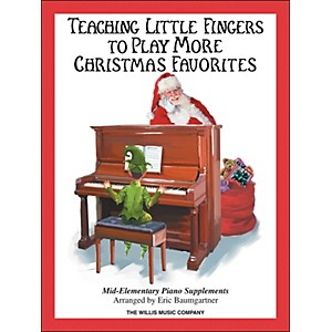 Willis-Music-Teaching-Little-Fingers-To-Play-More-Christmas-Favorites-Book-Standard