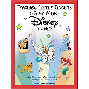 Willis-Music-Teaching-Little-Fingers-To-Play-More-Disney-Tunes-Book-Standard