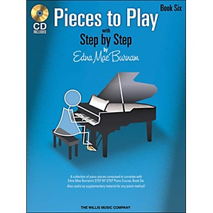 Willis-Music-Pieces-To-Play-Book-6-Book-CD-Standard
