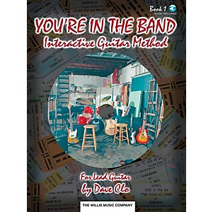 Willis-Music-You-re-In-The-Band-Lead-Guitar-Method-Book-1-Book-CD-Standard