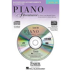 Faber-Music-Piano-Adventures-CD-For-Lesson-Level-3B---Faber-Piano-Standard