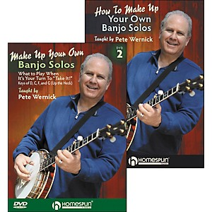 Homespun-Make-Up-Your-Own-Banjo-Solos-DVD-s--1---2--By-Pete-Wernick-Standard