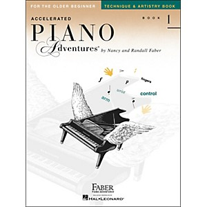 Faber-Music-Accelerated-Piano-Adventures-Technique---Artistry-Book---Book-1-For-The-Older-Beginner---Faber-Piano-Standard