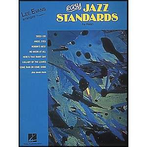 Hal-Leonard-Lee-Evans-Arranges-Easy-Jazz-Standards-For-Piano-Standard