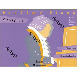 Faber-Music-Pretime-Piano-Classics-Book-Primer-Level-For-Beginning-Reading---Faber-Piano-Standard