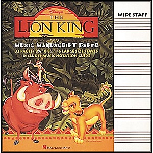 Hal-Leonard-The-Lion-King-Music-Manuscript-Paper-Standard