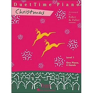 Faber-Music-Duettime-Piano-Christmas-Level-1-One-Piano-Four-Hands---Faber-Piano-Standard