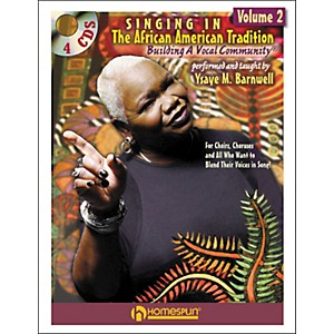 Homespun-Singing-In-The-African-American-Tradition-Volume-2--Book-CD-Package--Standard