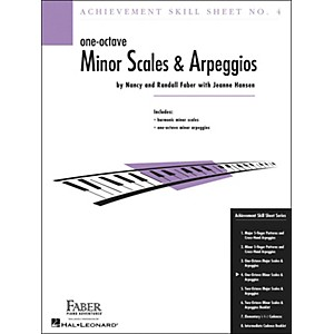 Faber-Music-Achievement-Skill-Sheet-No--4--One-Octave-Minor-Scales-And-Arpeggios---Faber-Piano-Standard
