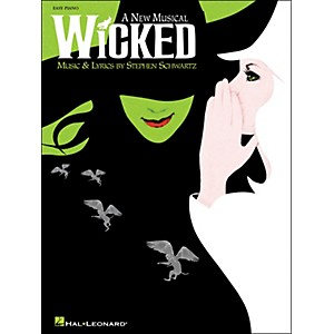 Hal-Leonard-Wicked---A-New-Musical-For-Easy-Piano-Standard