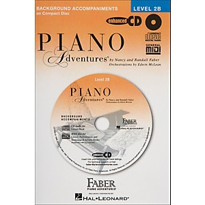 Faber-Music-Piano-Adventures-Lesson-CD-For-Level-2B---Faber-Piano-Standard