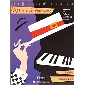 Faber-Music-Bigtime-Piano-Ragtime---Marches-Level-4-Intermediate---Faber-Piano-Standard