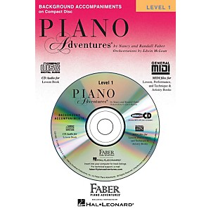 Faber-Music-Piano-Adventures-Lesson-CD-Level-1-With-Practice-And-Performance-Tempos---Faber-Piano-Standard