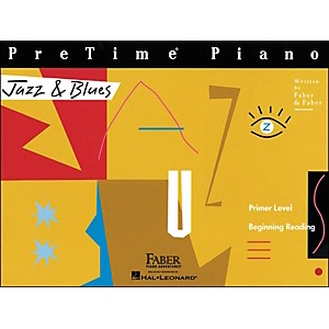 Faber-Music-Pretime-Piano-Jazz---Blues-Book-Primer-Level-Beginning-Reading---Faber-Piano-Standard