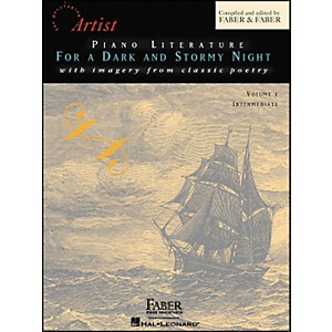 Faber-Music-Piano-Literature-For-A-Dark-And-Stormy-Night-Volume-1-Intermediate-Book---Faber-Piano-Standard