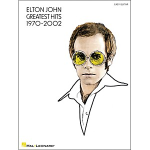Hal-Leonard-Elton-John-Greatest-Hits-1970-2002--Easy-Guitar-With-Tab--Standard