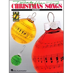 Hal-Leonard-25-Top-Christmas-Songs-For-Clarinet-Book-CD-Standard