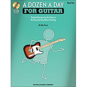 Willis-Music-A-Dozen-A-Day-For-Guitar---Book-1-Book-CD-Pack-Standard
