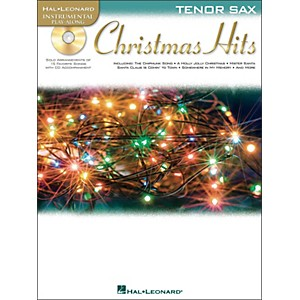 Hal-Leonard-Christmas-Hits-For-Tenor-Sax---Instrumental-Play-Along-Book-CD-Pkg-Standard