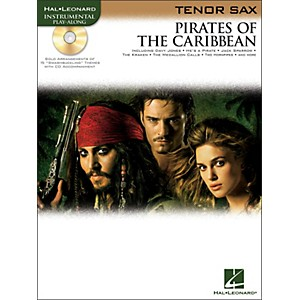 Hal-Leonard-Pirates-Of-The-Caribbean-For-Tenor-Sax-Instrumental-Play--Along-Book-CD-Standard