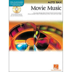 Hal-Leonard-Movie-Music-For-Alto-Sax-Book-CD-Standard