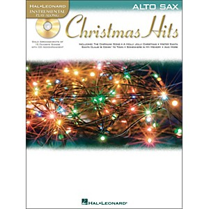 Hal-Leonard-Christmas-Hits-For-Alto-Sax---Instrumental-Play-Along-CD-Pkg-Standard