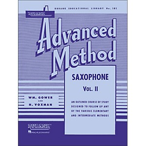 Hal-Leonard-Rubank-Advanced-Method-For-Saxophone-Volume-2-Standard