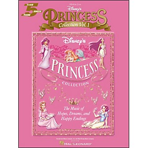 Hal-Leonard-Disney-s-Princess-Collection-Volume-1-Selections-For-Five-Finger-Piano-Standard