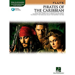 Hal-Leonard-Pirates-Of-The-Caribbean-For-Flute-Instrumental-Play-Along-Book-CD-Standard