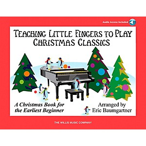 Willis-Music-Teaching-Little-Fingers-To-Play-Christmas-Classics--Book-CD--Standard