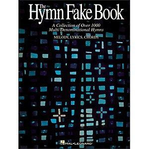 Hal-Leonard-Hymn-Fake-Book---Collection-Of-Over-1000-Multi-Denominational-Hymns-Standard