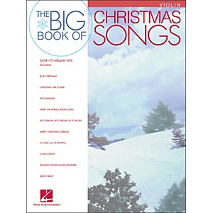 Hal-Leonard-Big-Book-Of-Christmas-Songs-For-Violin-Standard