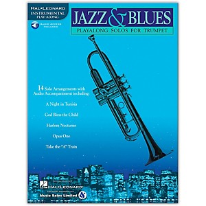 Hal-Leonard-Jazz---Blues-Playalong-Solos-for-Trumpet--Book-CD--Standard