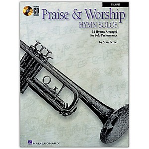 Hal-Leonard-Praise---Worship-Hymn-Solos---15-Hymns-Arranged-For-Solo-Performance-For-Trumpet-Book-CD-Standard