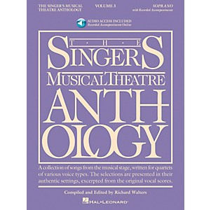 Hal-Leonard-Singer-s-Musical-Theatre-Anthology-For-Soprano-Volume-3-Book-2CD-s-Standard