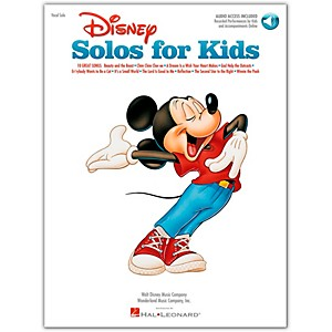Hal-Leonard-Disney-Solos-For-Kids-Book-CD-Standard