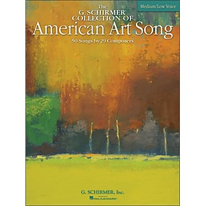 G--Schirmer-American-Art-Song-Medium--Low---The-G-Schirmer-Collection-Standard