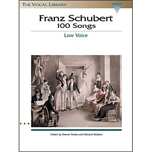 Hal-Leonard-Schubert---100-Songs-For-Low-Voice--The-Vocal-Library-Series--Standard