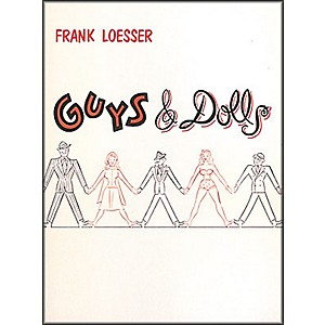 Hal-Leonard-Guys---Dolls-Vocal-Score-Songbook-Standard