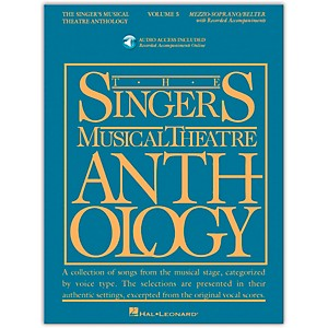 Hal-Leonard-Singer-s-Musical-Theatre-Anthology-For-Mezzo-Soprano---Belter-Vol-5-Book-2CD-s-Standard