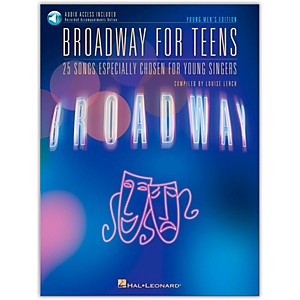 Hal-Leonard-Broadway-For-Teens---Young-Men-s-Edition-Book-CD-Standard